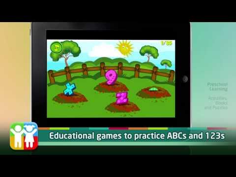 Preschool Learning - A Playrific app perfect for Preschoolers!
