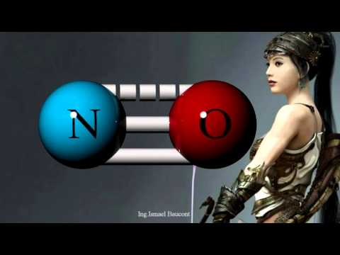 Nitric Oxide: 3D Molecular Structure