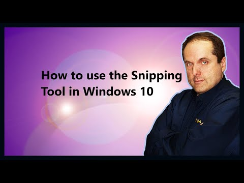 How to use the Snipping Tool in Windows 10