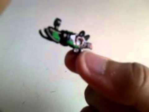 Lego ray gun mark 2 minifig size WATCH!