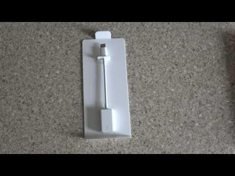 Apple USB C to USB & Thunderbolt 2