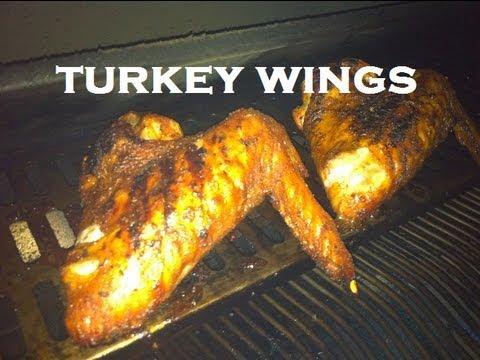 TURKEY WINGS - BBQ & SMOKED WITH APPLE WOOD CHIPS  - BBQFOOD4U