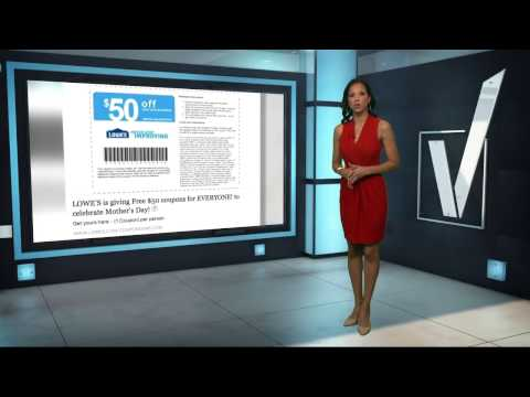 Verify: Is Lowe's Facebook coupon real?