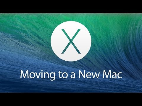 Moving to a New Mac