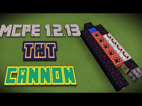 MCPE (1.2.13) TUTORIAL • TNT CANNON