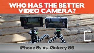 Apple iPhone 6S vs Samsung Galaxy S6 - Video Camera Comparison