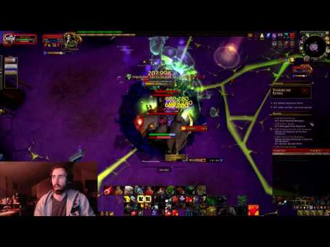 How to Beat Highlord Kruul (The Highlords Return) Tank Artifact Challenge (Prot Warrior PoV)