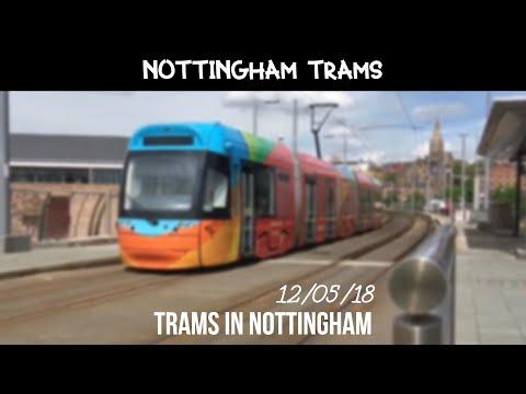 Trams In Nottingham (12/05/18)