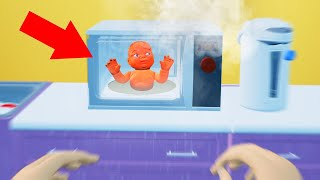 I ACCIDENTALLY MICROWAVED MY BABY! (Mother Simulator)