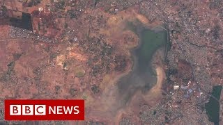 Download City where drought is visible from space- BBC News Video
