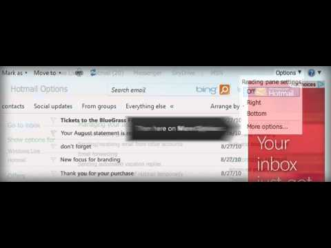 Another Look at Hotmail: Instant Actions
