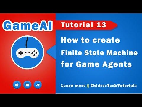AI ( Game AI ) tutorial 13 - Finite State Machines in games