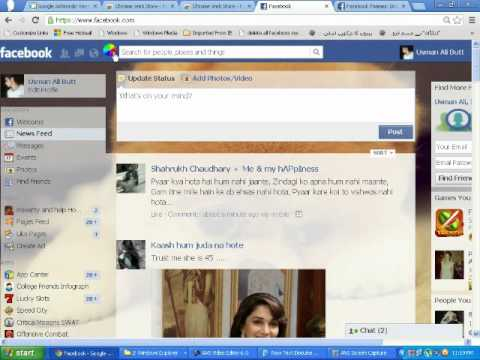 How to change background of facebook theme