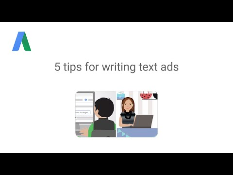 5 tips for writing text ads