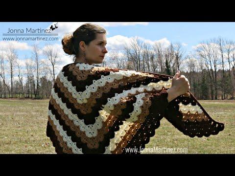 How To Crochet A Beautiful Shells Shawl