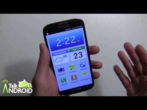 For the beginner: How to set the Galaxy S 4 to Easy Mode