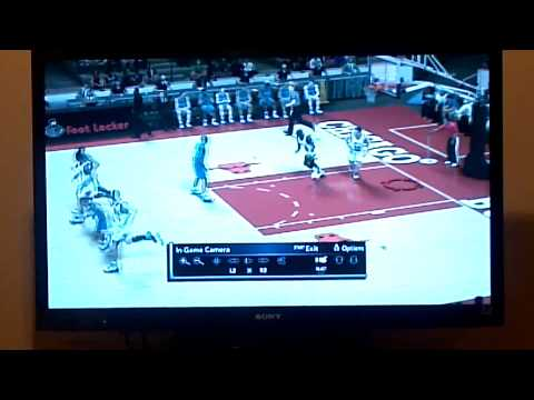 NBA 2k12 Michael Jordan at the buzz ps3 1080p