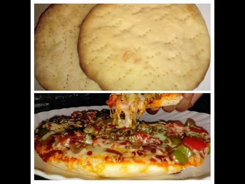 पिज़्ज़ा बेस घर पर बनाने की विधि-Perfect Pizza Base-Pizza base recipe in hindi-Pizza Dough Recipe