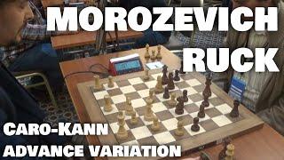 Morozevich against Caro-Kann | Morozevich - Ruck | European Blitz