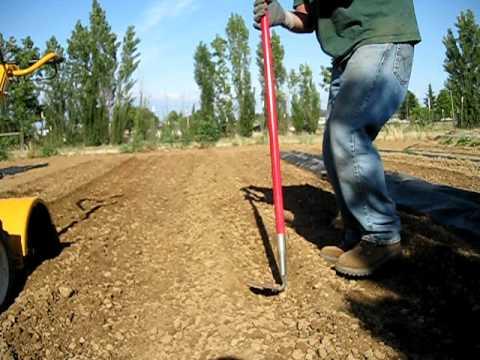 Green Garden TIPS - Make your tiller work for you