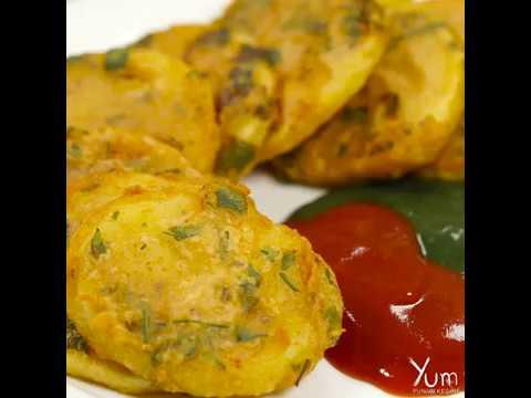 Delicious Homemade Bhajias