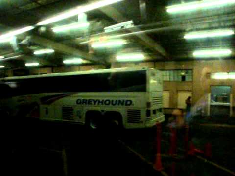 A Greyhound bus trip: Vancouver BC to Portland OR 2010-08-28
