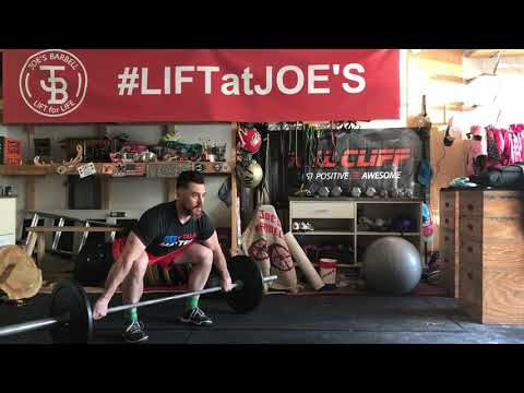 Snatch Pull to knee
