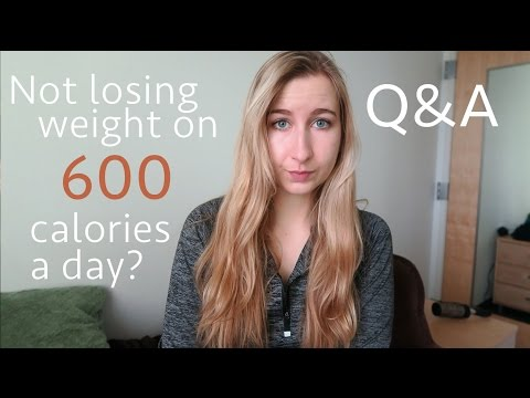 Not Losing Weight Eating 600 Calories? (or any low calorie diet) | Q&A