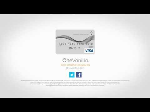One Vanilla Gift Card web spot