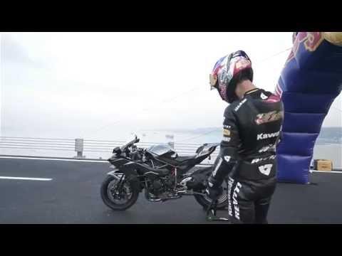 Kawasaki Ninja H2R reaches 400 km/h (249 mph) in 26 Sec