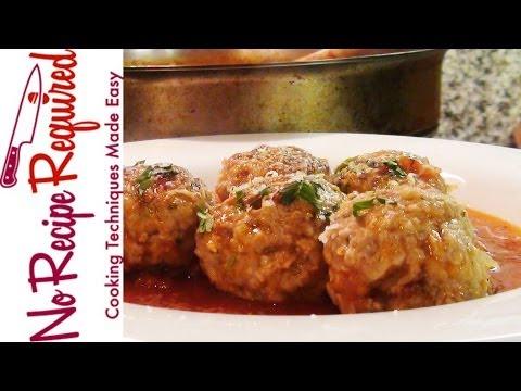 Turkey Meatballs - NoRecipeRequired.com