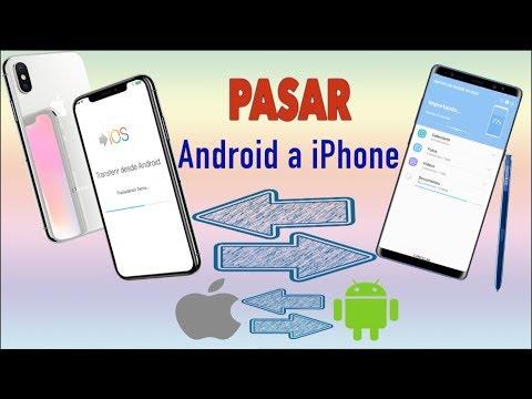 Como Pasar Datos de Android a iPhone