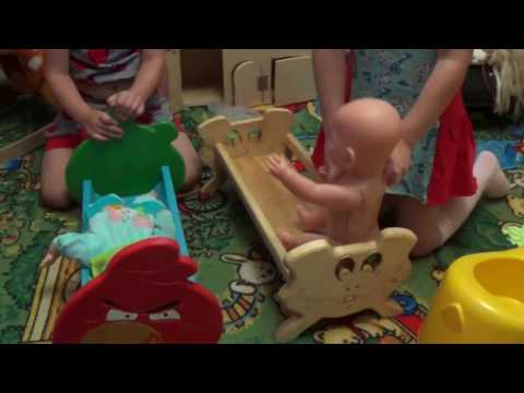КАК СДЕЛАТЬ СВОИМИ РУКАМИ кроватку DIY.Angry birds cot for dolls / Angry birds.