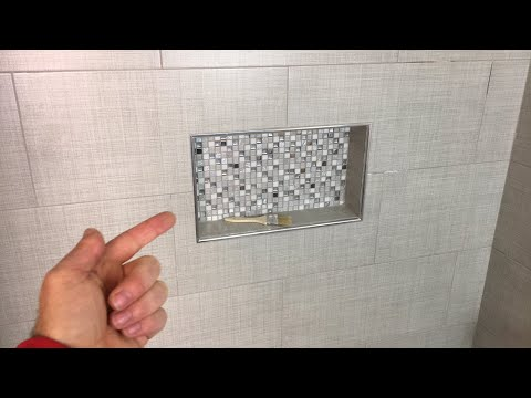 Tiling a Shower Niche Quick Tips (LIVE)