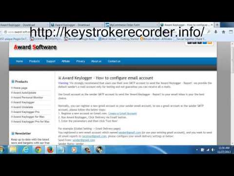 Using Invisible Keyloggers to Monitor Internet Activity- PC & MAC keylogger