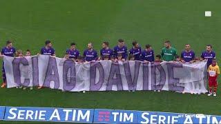 Ciao Davide   Fiorentina pay an emotional tribute to Davide Astori