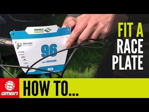 How To Fit A Race Plate Like A Pro