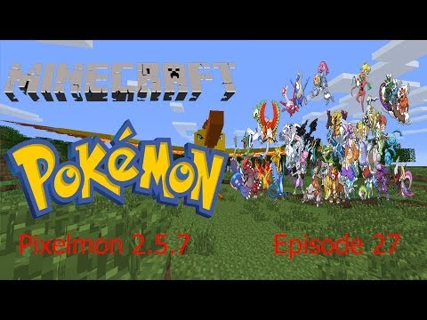 A LEGENDARY HAS SPAWNED! Pixelmon 2.5.7! - Episode 25