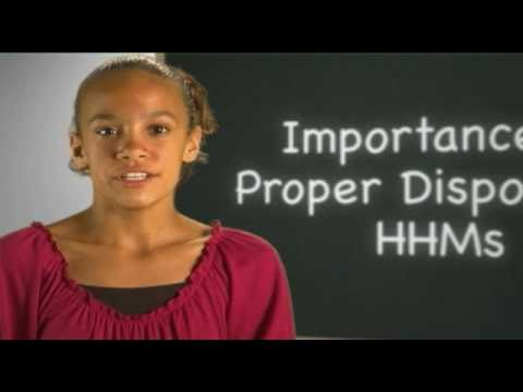 Importance of Proper Disposal of HHMs