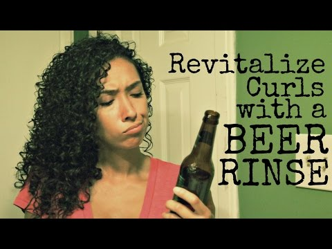 Beer Rinse for Revitalized Curls: Does it work?