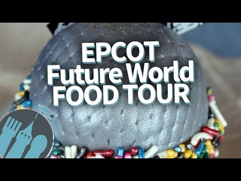 Disney World Food Tour: EVERY Food Spot in Epcot's Future World!