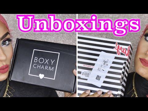 JUNE BOXYCHARM & SEPHORA PLAY UNBOXING 2017