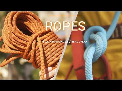 Climbing Rope Test: The Beal Opera And The Black Diamond 9.6 | Climbing Adventures In Sicily