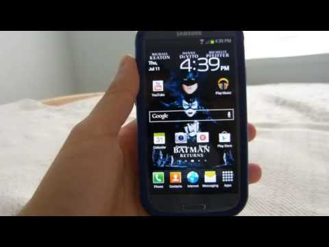 How to set a full picture on the lockscreen of Samsung Galaxy S3