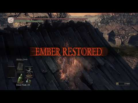 Dark Souls III - Immolation Tinder + Hidden Body - PvE