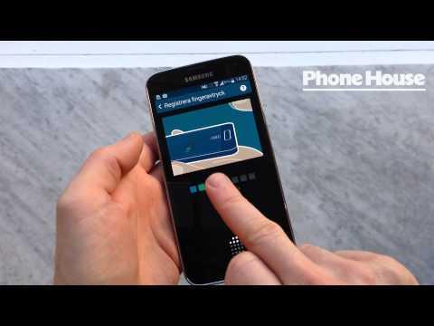 Samsung Galaxy S5 - så fungerar fingeravtrycksläsaren