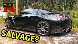 Rebuilding A Wrecked 2013 Nissan GTR
