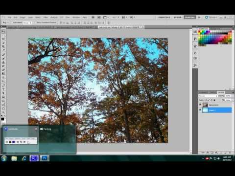 photoshop Tutorial: How to Replace a sky in photoshop cs5