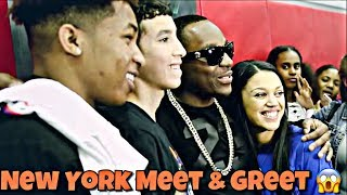 MEET & GREET IN NEW YORK VLOG!!