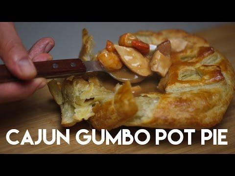 Cajun Gumbo Pot Pie | Foodbeast Kitchen